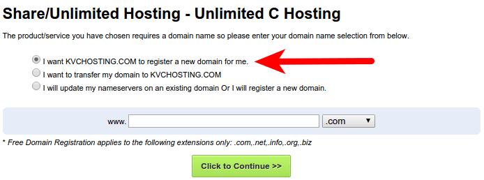 KVC dominio nuevo