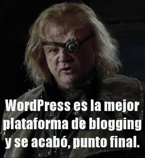 Alastor Moody WordPress